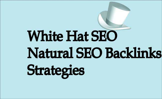 Natural SEO Backlinks Strategies